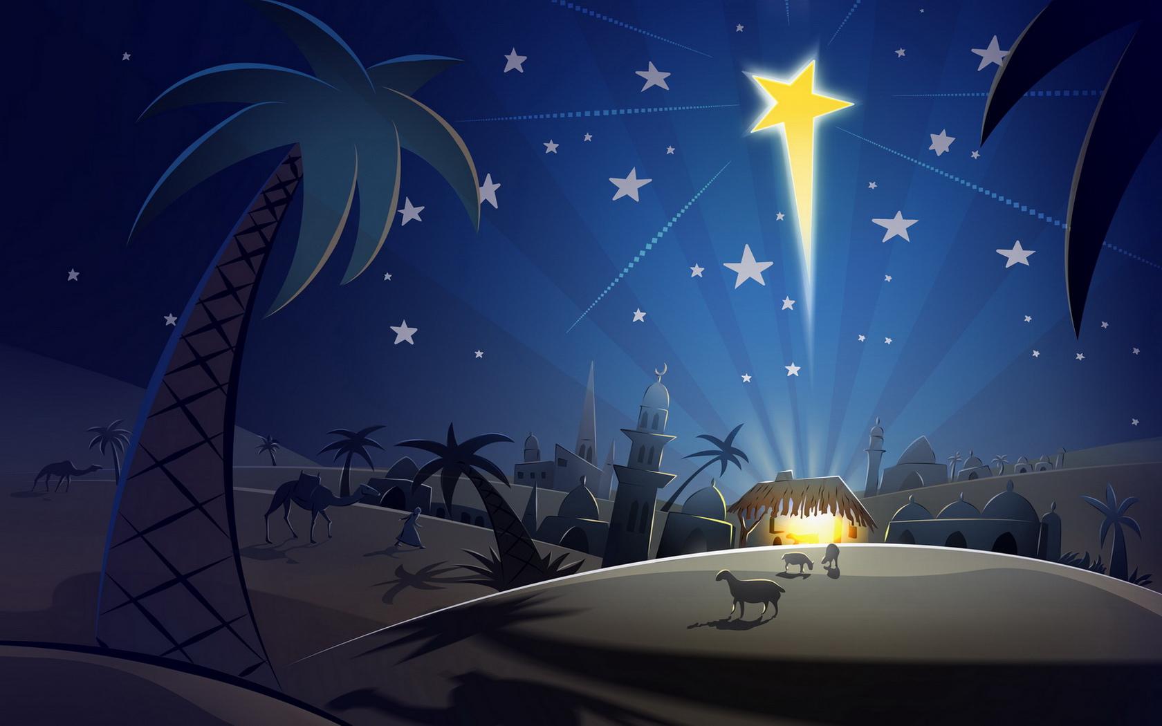 Christmas Nativity Wallpaper 2